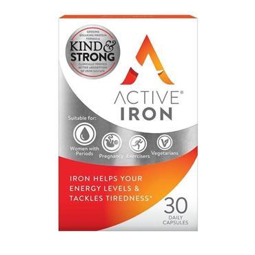 ACTIVE IRON CAPS 30PK