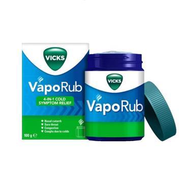 VICKS VAPORUB 100G TUB