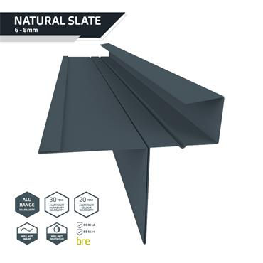 Slate Dry Verge Alu. (T2) 25mm Blue/Black