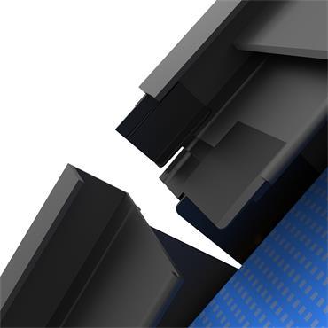 Slate Dry Verge PVC (T2) Universal Jointer