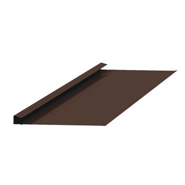 Standard Valley Slate Trim Alu. Brown 2.4m