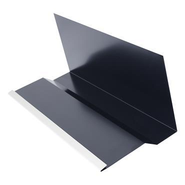 Continuous Aluminium Soaker 2.4m Blue/Black