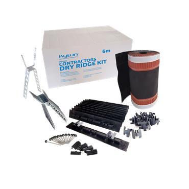 Contractors Dry Ridge Kit 6m