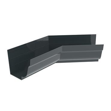 Ogee Aluminium Gutter Internal 135 deg Bend 125mm RAL 7016