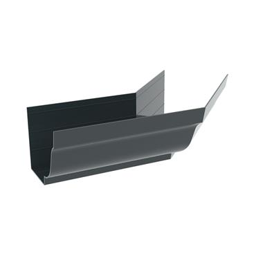 Ogee Aluminium Gutter External 135 deg bend 125mm RAL 7016