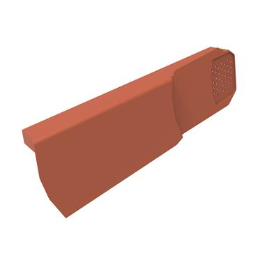 Uni-Fix Dry Verge Unit (RH) Terracotta (pack of 10)
