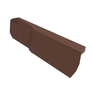 Uni-Fix Dry Verge Unit (LH) Brown (pack of 10)