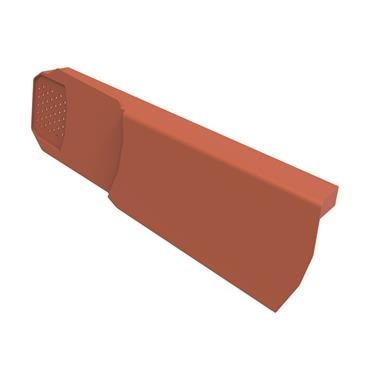 Uni-Fix Dry Verge Unit (LH) Terracotta (pack of 10)