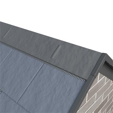 Kytun Ridge Capping - 90 deg Blue/Black 2.4m