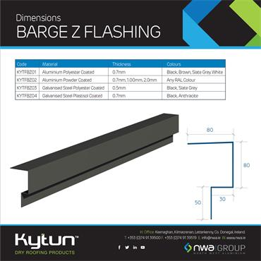 Barge Z Flashing (4 x 2.4m)