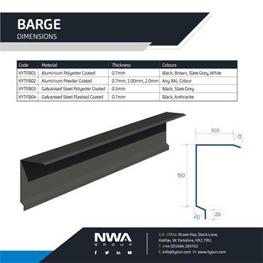 Barge Flashing (4 x 2.4m)