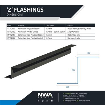 Z Flashing (4 x 2.4m)