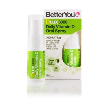 Better You DLux 3000 Vitamin D Oral Spray 15ml