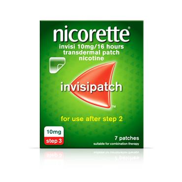 NICORETTE INVISI 10MG/16HOURS PATCH 7 pack