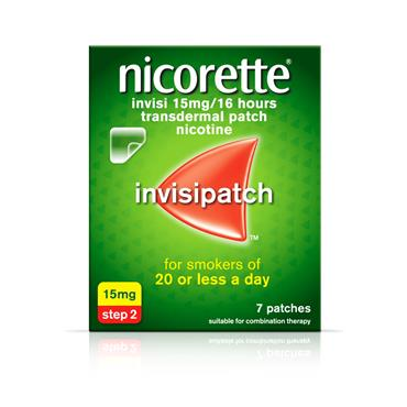 NICORETTE INVISI 15MG/16HOURS PATCH 7 pack