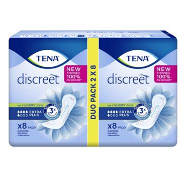 TENA LADY EXTRA PLUS DUO PACK 16S
