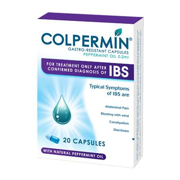 Colpermin Gastro-Resistant Capsules Peppermint Oil 0.2ml