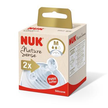 Nuk Nature Sense Teat 0-6 Months Medium