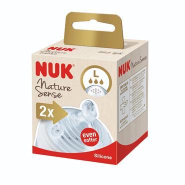 Nuk Nature Sense Teat 6-18 Months Large