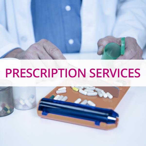 Prescription and medication services