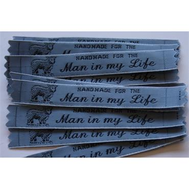 4 x Handmade For The Man In My Life labels