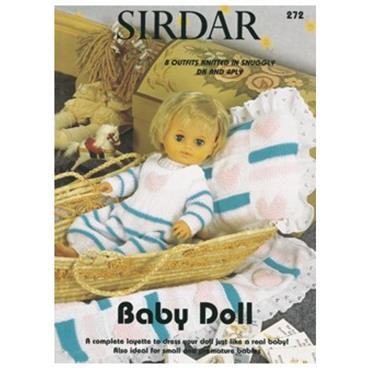Sirdar Baby Doll Book (B) #272