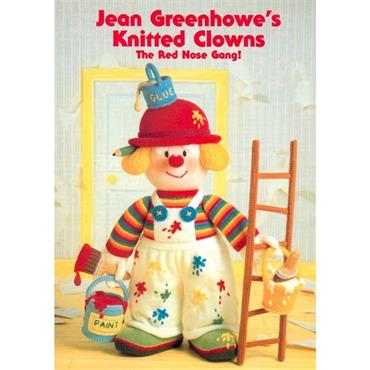 Jean Greenhowes Knitted Clowns (Red Nose Gang)