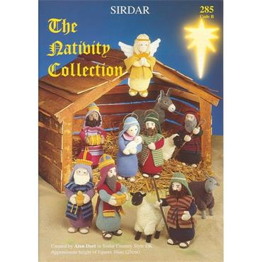 The Christmas Nativity Collection Book (B) (Sirdar #285)