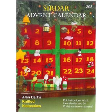 Knit Christmas Advent Calendar (B) (Sirdar #298)