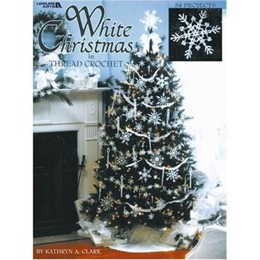 White Christmas in Thread Crochet book by Kathryn A. Clark (#3232)