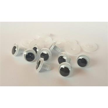 12mm Googly Toy Eyes (Safety Eyes) - 1 Pair