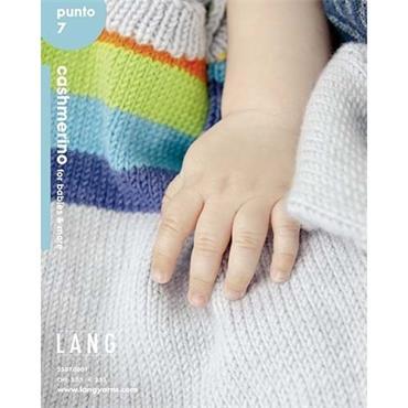 Lang Book #2507.0001 Cashmerino for babies & more  ( punto 7 )