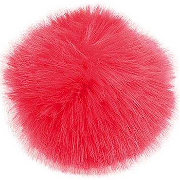 Rico Faux Fur Hat Pompom 13cm