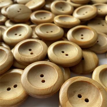 Wooden Button #3A71 - 32mm