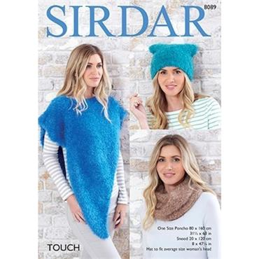 Sirdar Pattern #8089 Accessories in Touch