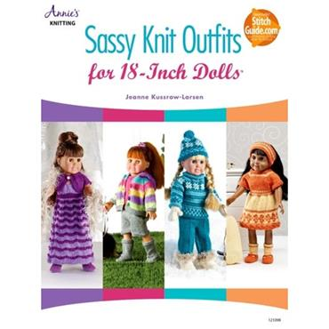 Sassy Knit Outfits for 18 Inch Dolls - Annie's Knitting Book 121098
