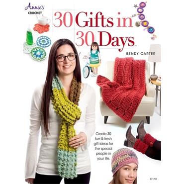 30 Gifts in 30 Days - Annie's Crochet Book 871703