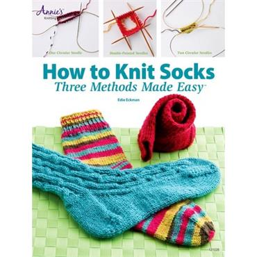 How To Knit Socks - Annie's Book 121028