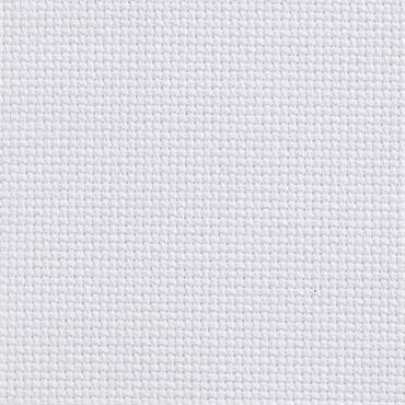 "White 14 Count Aida Embroidery Fabric (12"" x 18"" / 30cm x 45cm)"