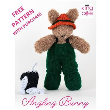 King Cole Angling Bunny Pattern