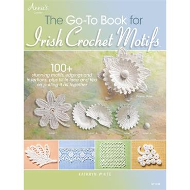 Annie's The Go-To Book for Irish Crochet Motifs #871388