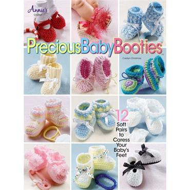 Precious Baby Booties to Crochet - Annie's Book 874050