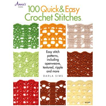 Annie's 100 Quick & Easy Crochet Stitches #871379