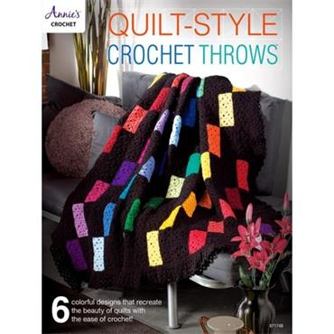 Quilt-Style Crochet Throws - Annie's Crochet Book 871748
