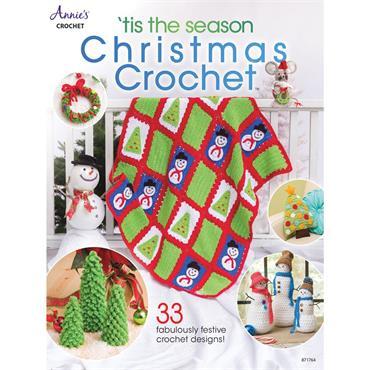 Annie's 'tis the season Christmas Crochet Book #871764