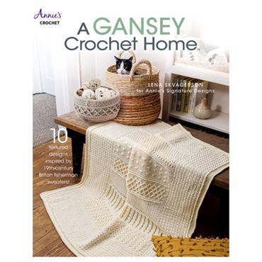 Annies Crochet A Gansey Crochet Home #871779