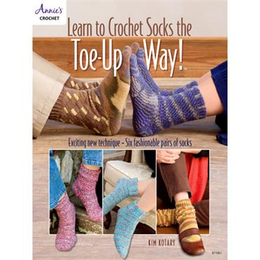 Learn to Crochet Socks the Toe-Up Way!  8710611   ***