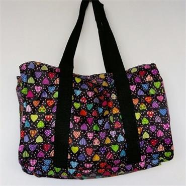 Knitting Bag - Magic Hearts   ***