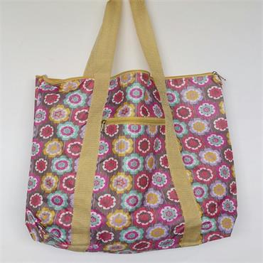 Knitting Bag - Flower Power