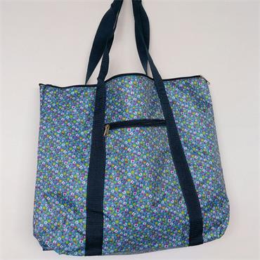 Knitting Bag - Blue Floral